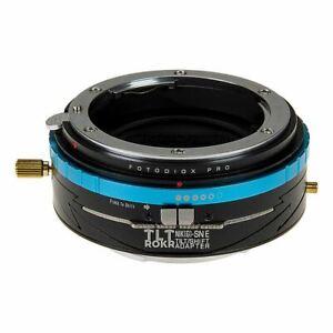 Fotodiox Pro TLT ROKR - Tilt / Shift Lens Mount Adapter for Nikon Nikkor F Mount
