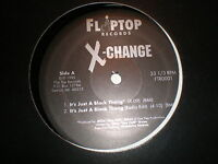 "X-Change 12"" It's Just A Black Thang"