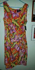 NWT sag harbor size 12 floral faux wrap dress   14K