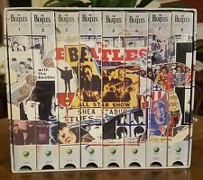●THE BEATLES●ANTHOLOGY●8 VHS TAPES●APPLE CORP●c1996●NEAR MINT●#2●SEE PICTURES●