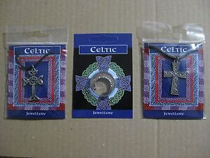 Celtic Inspired Silver Pewter Jewellery