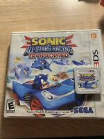 Sonic & All-Stars Racing Transformed (Nintendo 3DS, 2013) Case Included.