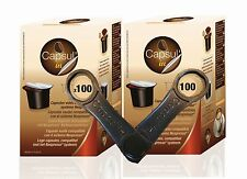 *INTERNATIONAL BUYERS*  200 NESPRESSO Compatible Fillable Empty Coffee Capsules