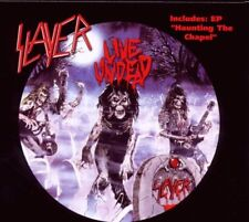"SLAYER ""LIVE UNDEAD/HAUNTING THE CHAPEL"" CD NEW+"