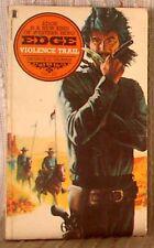 EDGE #25: VIOLENCE TRAIL, George G Gilman, 1st UK pb 1978 (9780450031779)