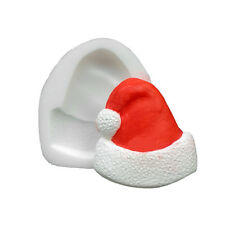 Noël Santa chapeau Moule Silicone, sécurité alimentaire, Décoration Gâteau, Sugarcraft Mold