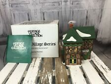 Department 56 Dickens Village t Puddlewick Spectacle Shop # 58331 Holiday Xmas