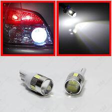 HID White Super Bright High Power LED Bulbs Car Reverse Back Up Light 921 T15