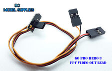 GoPro Hero 3 Hero 3+ Slim FPV Video Out Lead + Power Cable RC Lead V3 UK STOCK