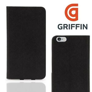 Griffin Apple iPhone 6 6S Plus Wallet Case Card Slot Book Flip Cover Shockproof