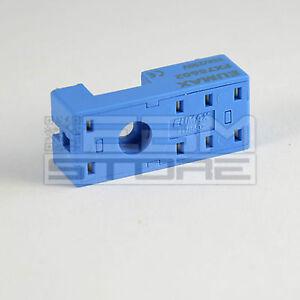 Zoccolo per relè 2 scambi da circuito stampato - ART. EB02