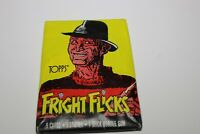 Topps 1984 Fright Flicks Trading Cards Brand New Sealed with Gum and Sticker