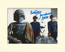 JEREMY BULLOCH BOBBA FETT STAR WARS PP 8x10 MOUNTED SIGNED AUTOGRAPH PHOTO