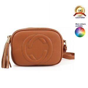 Small Cross Body Messenger bag Woman Girl Tassel Faux Leather
