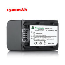 1500mAh Battery for Sony NP-FH70 NP-FH100 NP-FH90 NP-FH60 NP-FH50 NP-FH40 NPFH30