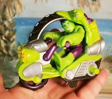 Incredible hulk 2012 motorcycle Hasbro Marvel Toy ACTION FIGURE Collectible
