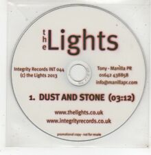 (GE97) The Lights, Dust And Stone - 2013 DJ CD