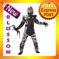 CK27 Arctic Forces Ninja Child Kids Boys Fancy Dress Up Party Halloween Costume