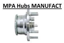 Wheel Bearing and Hub Assembly, Rear FOR MAZDA FORD LINCOLN MERCURY