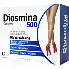 DIOSMINA 500 Complex Diosmin 60tabs Hesperidin rutin supports venous circulation