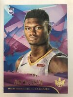 2019-20 Panini Court Kings Zion Williamson Level I RC #72 Pelicans Rookie RARE