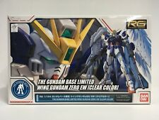 Bandai The Gundam Base Limited RG 1/144 Wing Gundam Zero EW Clear Color Version