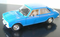 PEUGEOT 504 Limousine 1975 blau blue  Welly 1:18