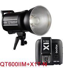 Godox QT600IIM 600W 2.4G Studio Flash + X1T-N Déclencheur Emetteur pour Nikon