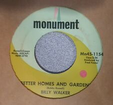 Billy Walker ‎– Better Homes And Gardens / If You See My Baby (VG+)