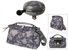 SET: Lenkertasche Basil Magnolia City Bag & Ding-Dong Glocke Basil Magnolia grau