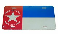 NORTH CAROLINA 1861 STATE FLAG LICENSE PLATE 6 X 12 NEW ALUMINUM MADE IN THS USA