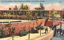 Coral Gables Florida student club University of Miami antique pc Z19653