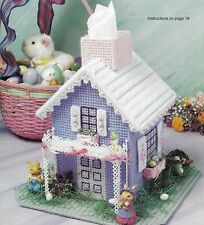 *Cottontail Cottage Tissue Cover To Stitch-Pattern*Plastic Canvas Patterns*