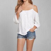 Fashion Women Ladies Summer Loose Casual Chiffon Long Sleeve Shirt Tops Blouse