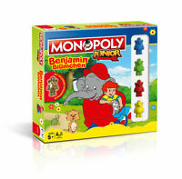 Monopoly Junior Benjamin Blümchen Brettspiel Gesellschaftsspiel Spiel Deutsch