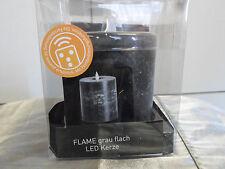 SOMPEX LED Echtwachskerze - 5 h Timer - Höhe 11 cm - Brenndauer ca 120 h - Neu