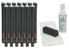 13 Grip One Max Feel Golf Grips - Black/White- Free Grip Kit
