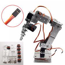 DIY Roboterarm Kit Roboter Klaue Halterung Schrauben Muttern MG996R Servo E9B6