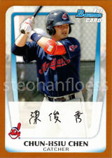 2011 Bowman Prospects Orange #BP26 Chun-Hsiu Chen 116/250 Cleveland Indians
