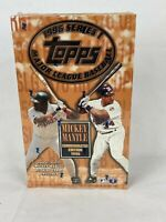 1996 Topps Baseball Series 1 Factory Sealed 36pk Box Mickey Mantle Commemorative