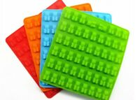 53 Gummy Bear Chocolate Mold Candy Maker Ice Tray Jelly Moulds Silicone