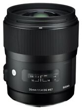 Sigma 35mm F/1.4 Lens For Sony