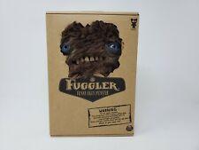 Rare Spin Master Fuggler Brown Furry Plush Monster Blue Eyes