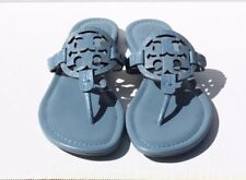 Tory Burch 'Miller Blue Leather  Sandals Women's Size 7 M