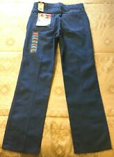 Wrangler Hero Mens Stretch Blue Jeans Flex-Fit Waist W34 x L32 NEW W TAGS READ!