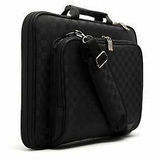 """Asus Eee PC 10"""" 10.1"""" Laptop Protection Case Sleeve Shoulder Bag Checkered i"""