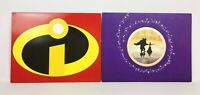 Disney Exclusive The Incredibles & Beauty and The Beast Lithograph Print Sets
