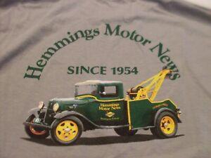 Hemmings Motor News Car Show T-Shirt 2XL
