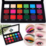 18Color Shimmer Matte Pigmented Neon Eyeshadow Palette Glitter Eye Shadow Makeup