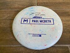 Discraft Luna 173-174g Prototype Signed by Paul McBeth